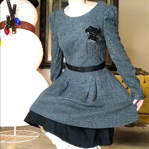 Dresses & Skirts - NEW TWEED STYLE DRESS